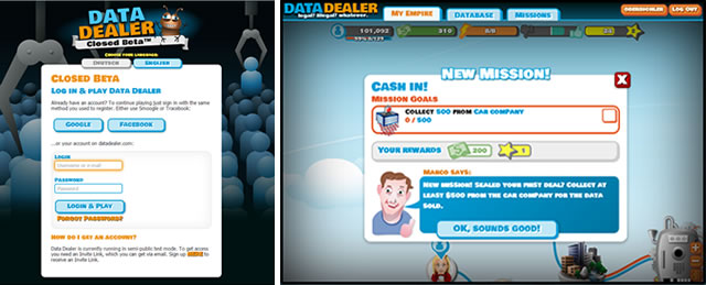 Data Dealer Closed Beta