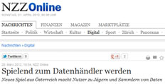 Data Dealer @NZZ