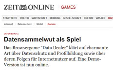 Data Dealer @Die Zeit
